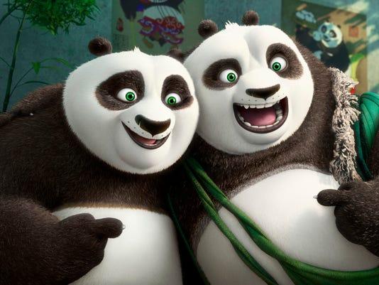"""Kung Fu Panda 3"": Father/son portrait"