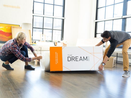 Bed-in-a-box companies like The Dream Bed have designs