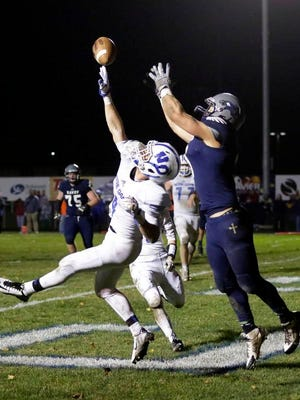 Green Bay Notre Dame senior defensive back Vinny Pallini was one of six area football players to receive first-team all-state honors from the WFCA.
