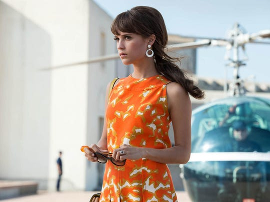 "Alicia Vikander stars in the action adventure ""The Man from U.N.C.L.E."""