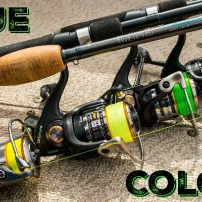 A rainbow of different line colors help anglers dial in the right shade for the presentation and conditions at hand.