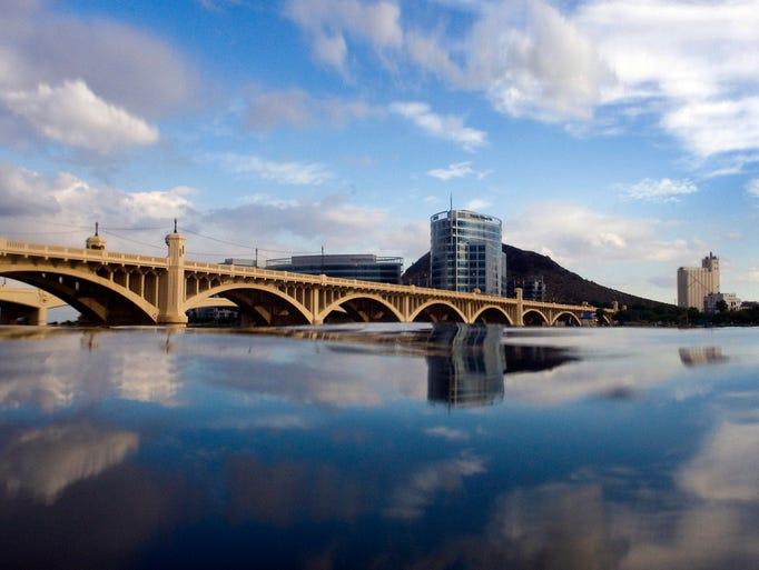 6 fishing spots in the phoenix metro area for Tempe town lake fishing