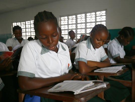 EPA LIBERIA PRESIDENT-ELECT HUM PEOPLE LBR