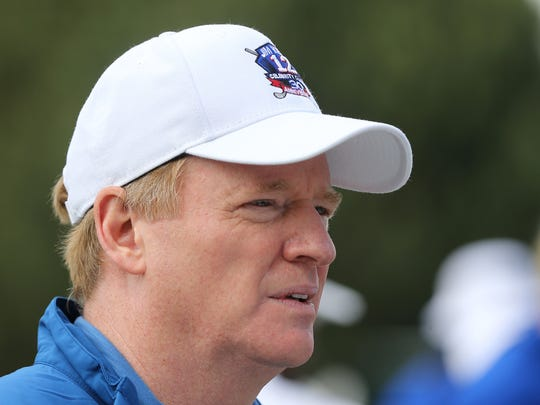NFL Commissioner Roger Goodell raised the issue of