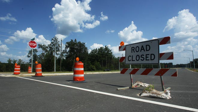 A stretch of lanes on Capital Circle Southwest was  closed for road work. Leon and other counties will be investing more than $50 million dollars into road projects, including adding new lanes to North Monroe Street and working on Capital Circle West.
