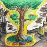 """This poster was honored in the 2016 poster contest, themed """"We All Need Trees."""""""