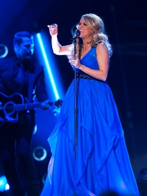 Carrie performs during the American Country Countdown