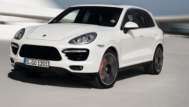 Porsche Cayenne Turbo S is big and impressive, except the brakes squeak
