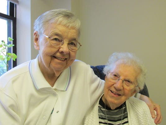 Dorothy Von Rotz and Sr. Mary Martha.JPG