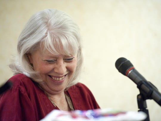 Sen. Peg Flory, R-Rutland District, pictured in 2014,