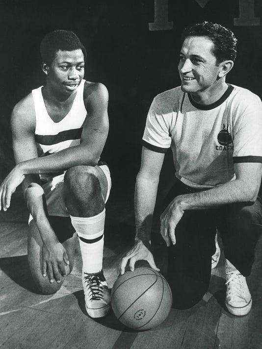 George Thompson and Al McGuire