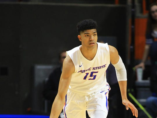 Boise State Broncos guard Chandler Hutchison