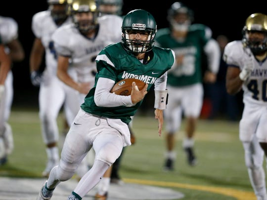 Greenwood QB Seth Gallman guides the Woodmen into semistate