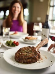 A 35 ounce Tomahawk Steak is Father's Day special at