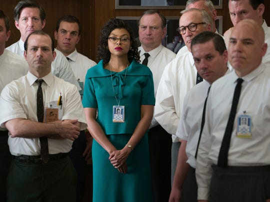 'Hidden Figures': Taraji P. Henson played Katherine Johnson, the mathematician personally requested by astronaut John Glenn to perform the calculations for his Mercury mission.