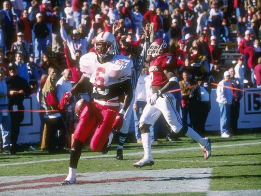 No. 8 Kenny Cheatham, WR, 1994: He was an All-Arizona