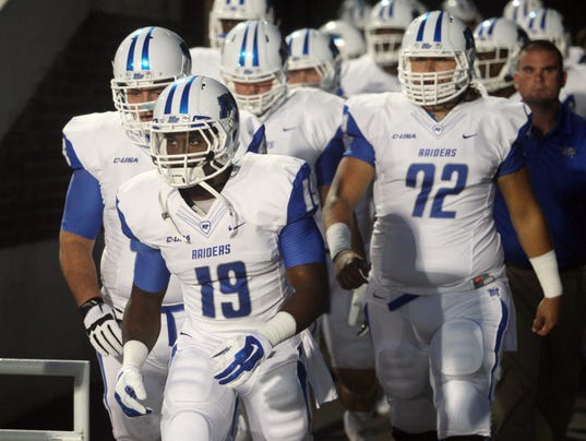 NCAA Football: Middle Tennessee at Old Dominion