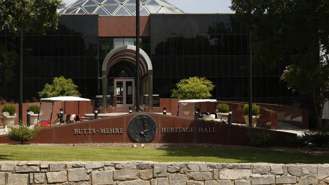 The University of Georgia Athletic Associations Butts-Mehre Heritage Hall in Athens, Ga, on Thursday, Sept. 3, 2020.