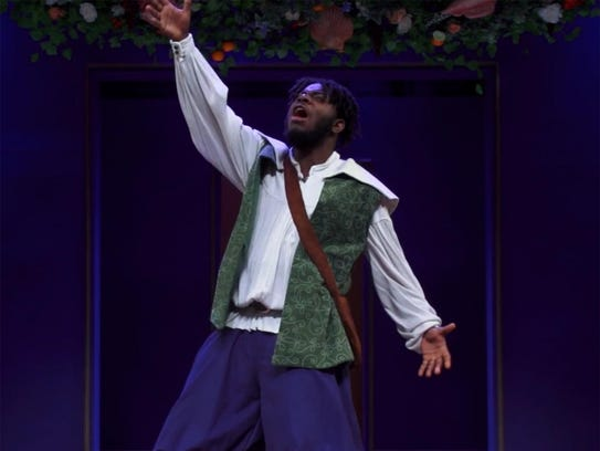 Robert Edwards stars in the Binghamton University production