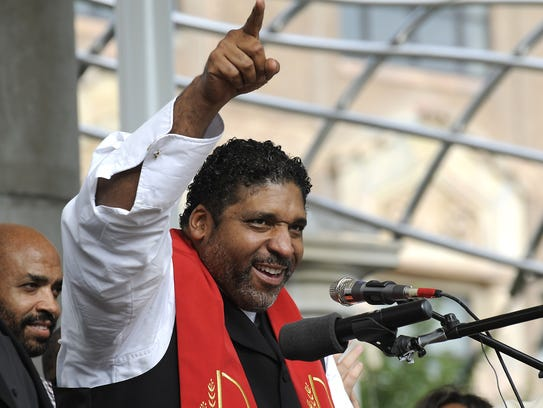 The Rev. William Barber, president of the North Carolina