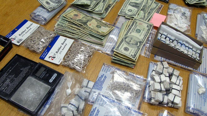 Earlier this year, City of Poughkeepsie police said they confiscated more than 600 bags of heroin and $16,000 in cash from a home on Gifford Avenue.