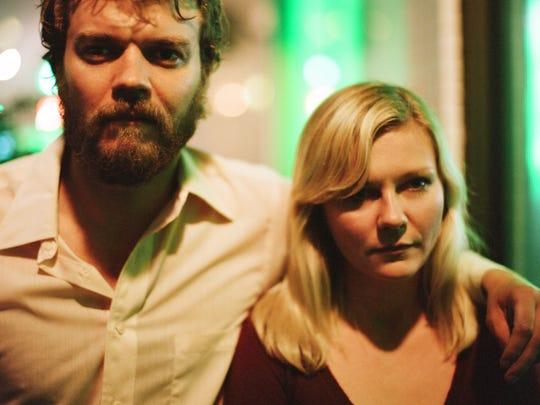 "Pilou Asbæk and Kirsten Dunst star in ""Woodshock."""