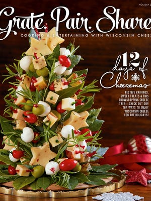 The Grate.Pair.Share holiday issue from the Wisconsin Milk Marketing Board is filled with ways to share the gift of Wisconsin cheese.
