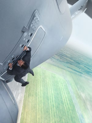 Tom Cruise plays Ethan Hunt in Mission: Impossible Rogue Nation from Paramount Pictures.