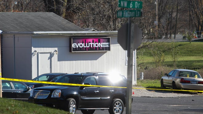 Police are investigating a November shooting at the Evolution Nightclub on Des Moines' north side.