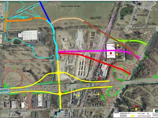 Alternatives being considered for connector roads to