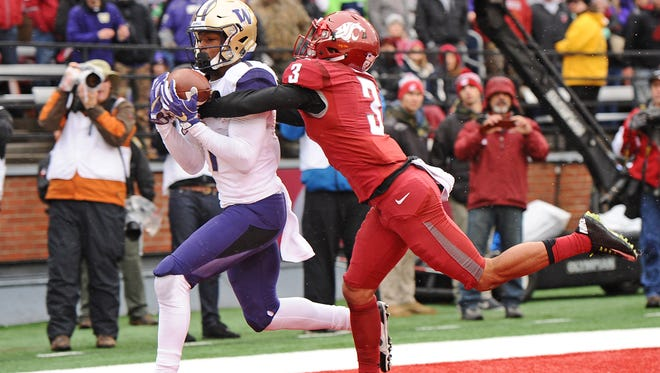 Washington's John Ross may have the best speed in the wide receiver class.