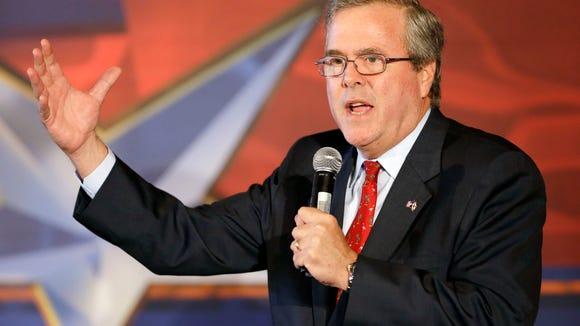Former Florida governor Jeb Bush is considering a run