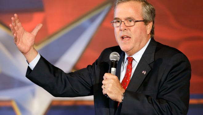 Former Florida governor Jeb Bush is considering a run for the presidency in 2016.