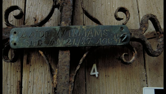 A grave marker made by enslaved blacksmith Solomon Williams for his wife, Laide, at Oakland Plantation is among 30 artifacts from Natchitoches Parish that will be displayed at the National Museum of African American History and Culture.