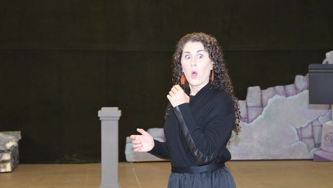 Claire Coolen sings the role of Mabel in Knoxville Opera's production of 'Pirates of Penzance.'