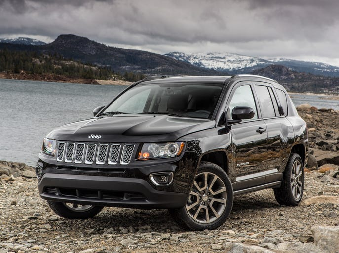 The 2014 Jeep Compass Limited.