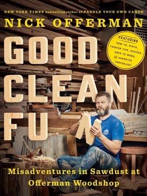 "Nick Offerman will talk about his new book, ""Good Clean Fun,"" on Oct. 25 at Mesa Arts Center."