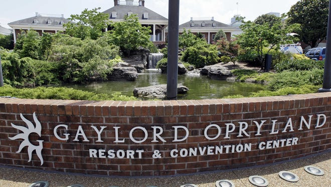 The Gaylord Opryland Resort & Convention Center.
