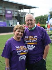 1010 MC Alzheimer's Walk 4: Riki & Gene Griffin