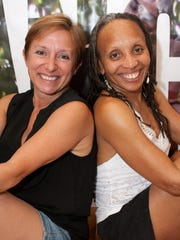 Laura Marchese, left, managing director of Dance on