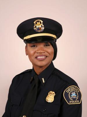 Detroit police Capt. LaShanna Potts   (Detroit police photo)