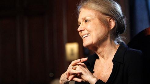 "Gloria Steinem, who appeared at the first Readers & Writers Festival, will return to talk about ""How the Women's Vote Can Shape the Election."""