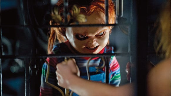Seen here in 'Curse of Chucky,' the devil doll of the
