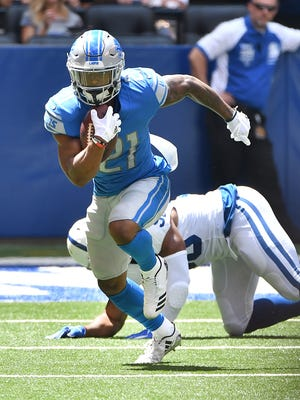 Lions running back Ameer Abdullah's point-per-reception value may not be  appealing to fantasy players,