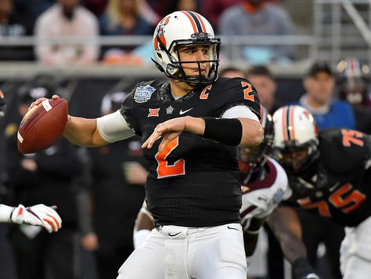 NCAA Football: Camping World Bowl-Oklahoma State vs Virginia Tech