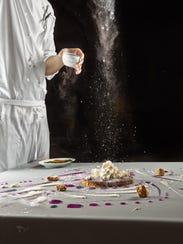Chicago's Alinea features artful gastronomy.