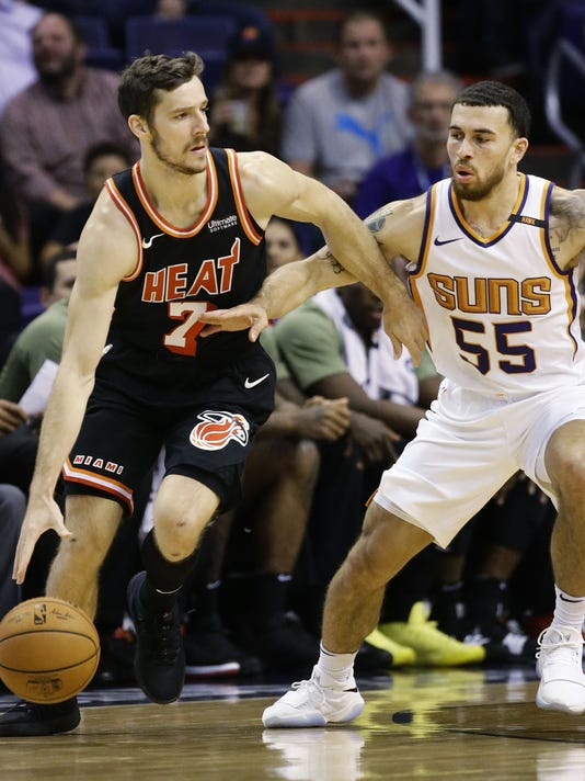 Miami Heat .vs Phoenix Suns 2017