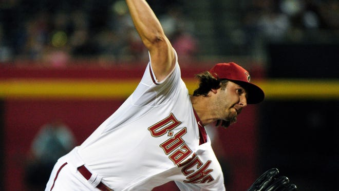 Mike Bolsinger made his major-league debut in relief Monday in a 7-3 loss to the Mets at Chase Field.