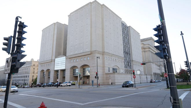 The Milwaukee County Jail building.