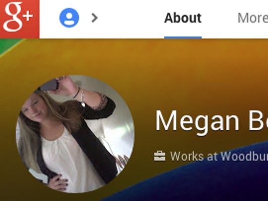 Megan Bookstaver's Google Plus page.